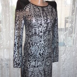Шикарное платье кожаные плечи р.S ог80-92, рук.60, дл.80