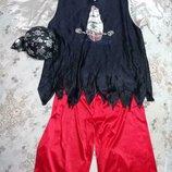 Карнавальный новогодний костюм пирата 52-54размер