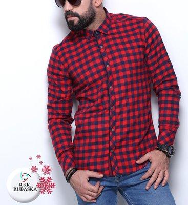 Рубашка мужская длинный рукав Турция 50-31-002
