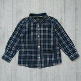 2-3 года Рубашка клетка H&M