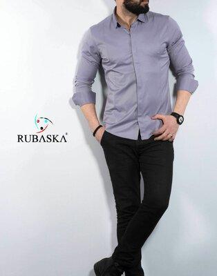 Рубашка мужская длинный рукав Турция 70-07-406
