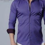 Рубашка мужская длинный рукав Турция 56-21-734