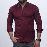 Рубашка мужская длинный рукав Турция 59-07-409