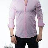 Рубашка мужская длинный рукав Турция 63-61-424