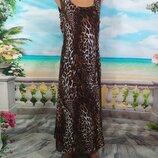 Шикарное платье из шифона -48р