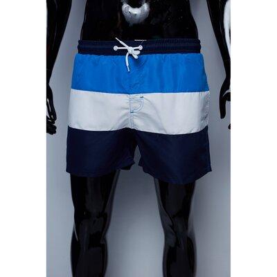 Шорты мужские пляжные GS 7776 синие