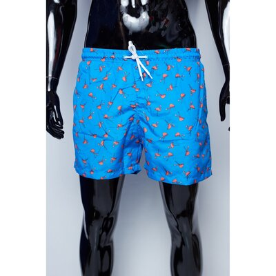 Шорты мужские пляжные GS 7773 синие