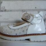 Туфельки кожаные на девочку р.21-23 Woopy ,ортопедия
