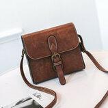 Маленькая женская сумочка ретро, 4 цвета