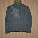 Р. xl/42/14 George. стильный, катоновый пиджак, жакет с вышивкой.