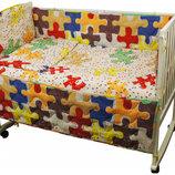 Огромный выбор Комплект постельного белья детский в кроватку, полуторный,двуспальный