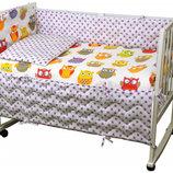 Огромный выбор Комплект постельного белья детский в кроватку, полуторный,двуспальный Кпб детский