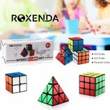 Набор 2 Кубика Рубика и Пирамидка Roxenda speed cube set