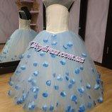 нарядное выпускное платье садик - р.128