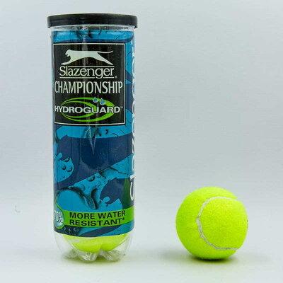 Мяч для большого тенниса Slaz Championship 8381 3 мяча в вакуумной упаковке
