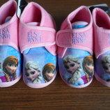 Детские комнатные тапочки Холодне сердце Эльза