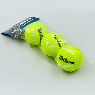 Мяч для большого тенниса Wils Volley 155 3 мяча в комплекте