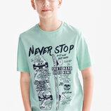 Подростковая футболка для мальчика C&A Германия Размер 146-152, 158-164, 170-176