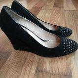 Туфли замша р 40