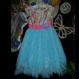 8лет.Бомбезное платье Jonna Michelle.мега выбор обуви и одежды