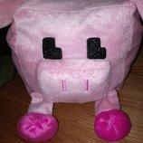 Свинка Майнкрафт мягкая игрушка