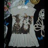 4-6лет.нежное платье h&m.mега выбор обуви и одежды
