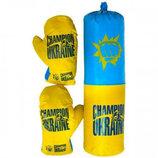 Боксерский Набор Средний УКРАИНА 0006DT. Боксерський набір для хлопчика. Danko Toys Данко Тойс