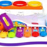 Развивающий Ксилофон 9199-856. Розвиваючий ксилофон. Музична іграшка.