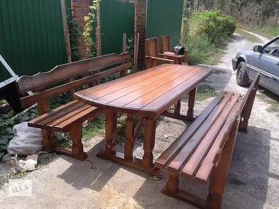 Садовая мебель столы лавки