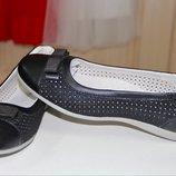 Детские туфли на девочку тм фламинго 37р