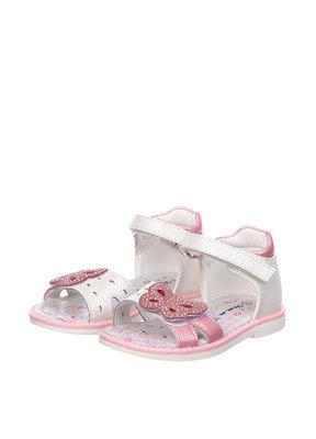 Босоножки для девочки Tom.m 19, 20, 21, 22, 23, 24 р белый, розовый C-T51-59-D