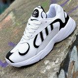 Кроссовки мужские Adidas Yung-1 кожаные
