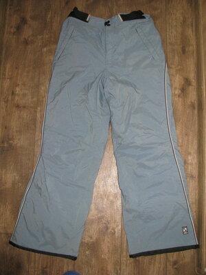 Штаны лыжные размер L горнолыжные мембранные зимние теплые