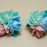 Резиночки цветы,букетик