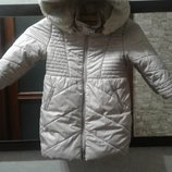 Зимова тепла куртка-пальто Mayoral Майорал на дівчину 98р
