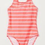 Купальник H&M Розовый неоновый Размеры на 2-8 лет