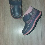 Ботинки кожа р.21 стелька 13,5 см.