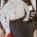 Стильная юбка карандаш от h&m с карманами размер s-m