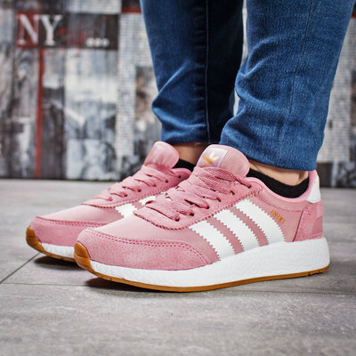 Кроссовки женские Adidas Iniki, розовые