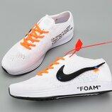 Кроссовки Nike Flyknit Racer Foam x Off White