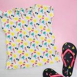 Летняя футболка Marks & Spencer 6-7 лет
