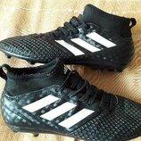 Бутсы копочки фирменные Adidas ACE 17.3 р.38-24см.