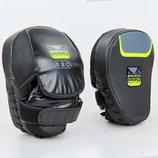 Лапа изогнутая боксерская Bad Boy Pro Series 8287 2 лапы в комплекте, размер 25x20x10см