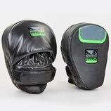 Лапа изогнутая боксерская Bad Boy Pro Series 8286 2 лапы в комплекте, размер 25x20x10см
