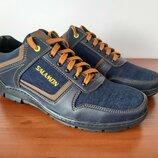 Мужские джинсовые кроссовки туфли