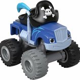 Fisher-Price Вспыш и Чудо-Машинки Крушила Пират GFD98 Pirate Crusher Blaze The Monster Machines Nick