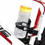 Подстаканник для велосипеда на раму черный 4019558