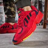 Кроссовки мужские Adidas Yung 1, красные