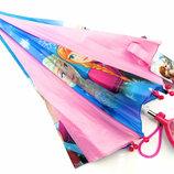 Детский зонт Анна и Эльза красивый Дисней разные