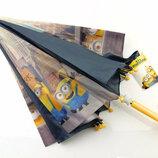Детский зонт Дисней Миньены Скай Щенячий патруль Эльза Тачки